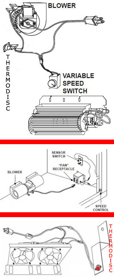 wiring a fireplace blower wiring diagram general Fireplace Fan Wiring Diagram